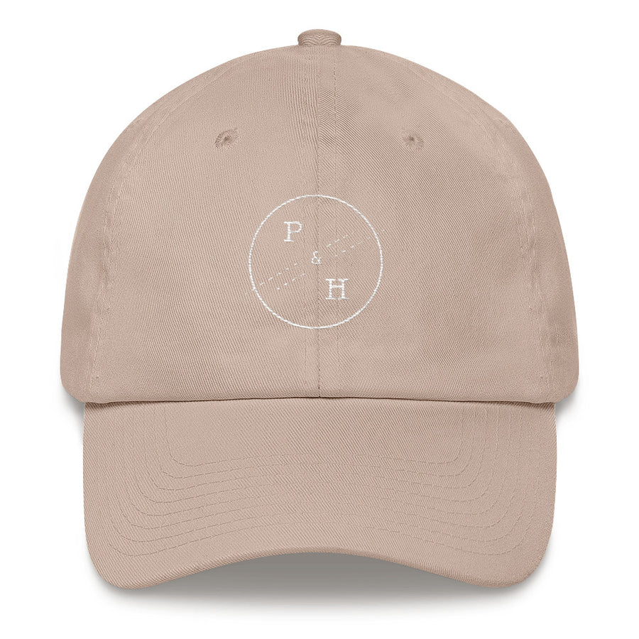 P&H Dad Hat - White Stitch