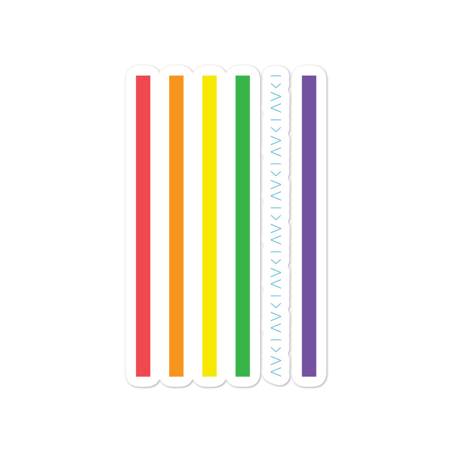 FLAG STICKER - PRIDE