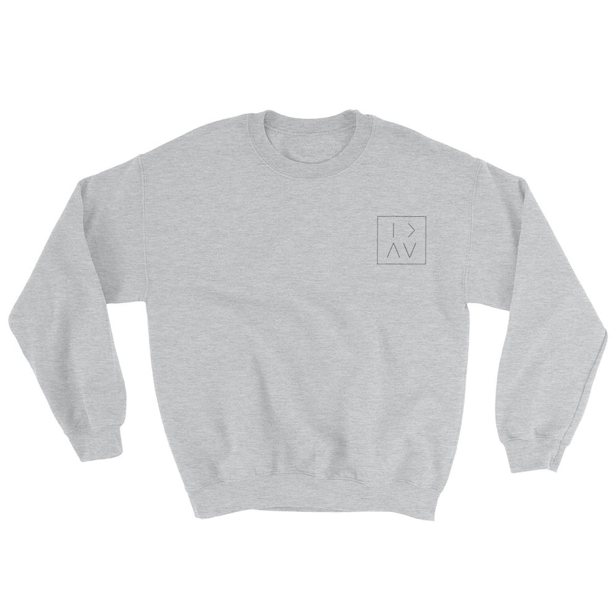 GT S BOX CREWNECK - BLACK STITCH
