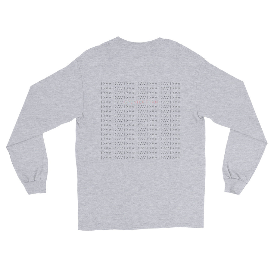 GT BACK PRINT PATTERN LONG SLEEVE