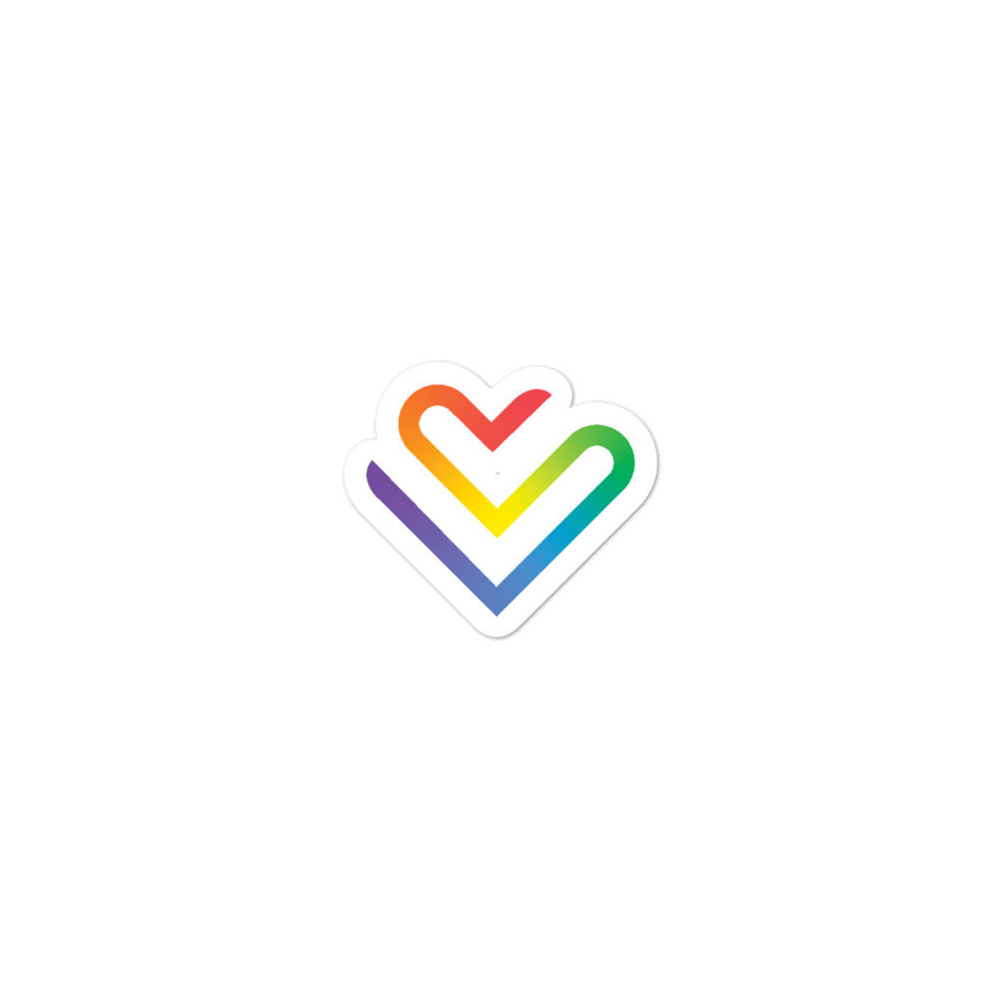PRIDE STICKER - RAINBOW