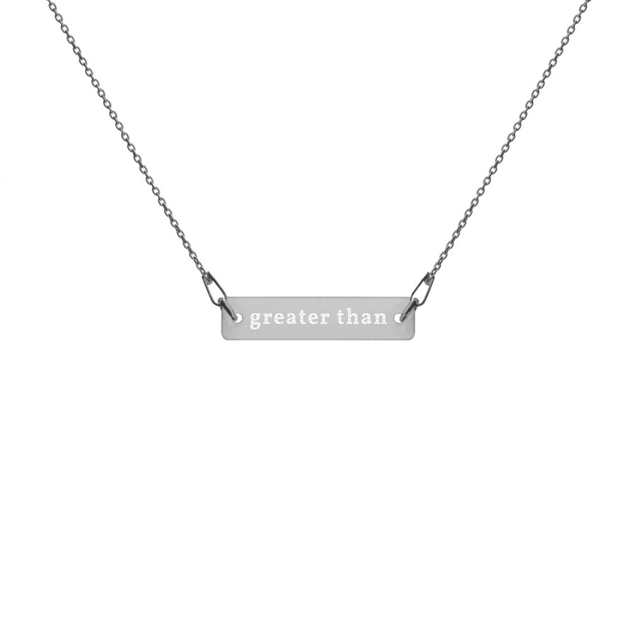 Engraved GT Necklace