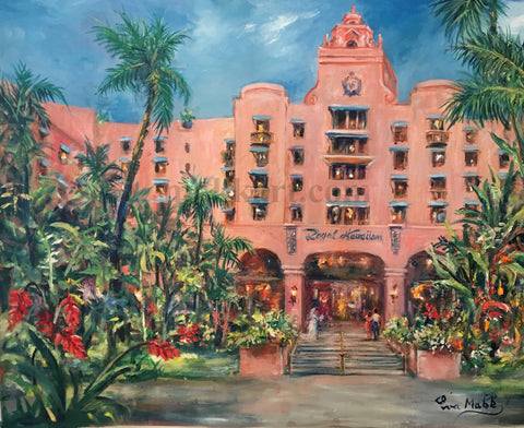 A Day in the Life of the Royal by Eva Makk An image of the Royal Hawaiian Hotel