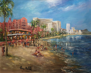 Beach Day at the Royal by Eva Makk
