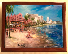 Load image into Gallery viewer, Beach Day at the Royal by Eva Makk