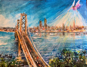 Bright Hope Golden Gate by Eva Makk