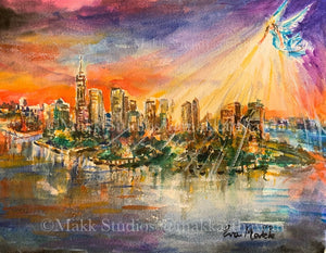 Bright Hope Manhattan by Eva Makk