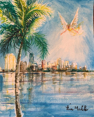 Bright Hope Miami by Eva Makk