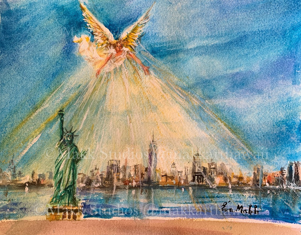 Bright Hope New York City by Eva Makk