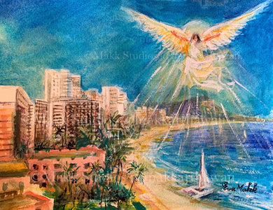 Bright Hope Waikiki by Eva Makk