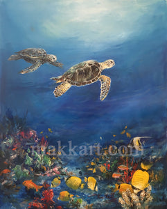 Honu Freedom by Eva Makk