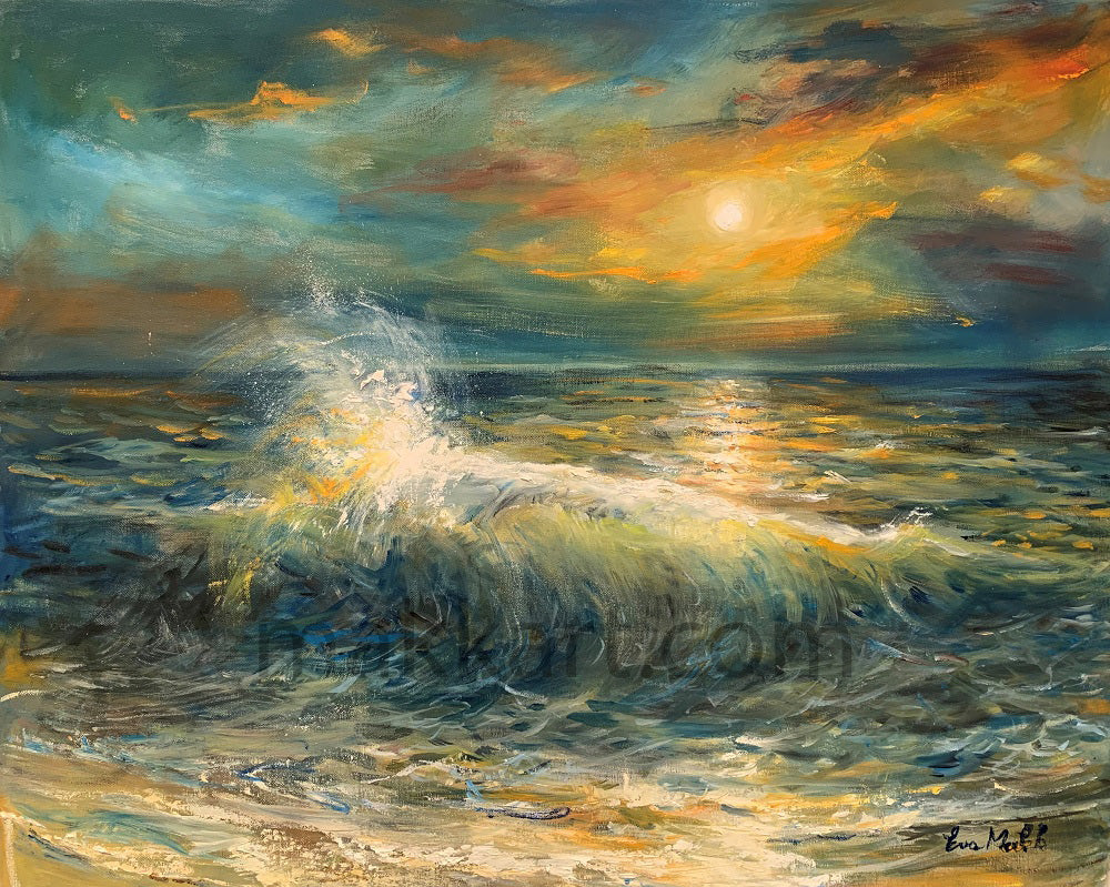 Ocean Sparkle by Eva Makk