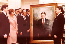 Load image into Gallery viewer, Portrait of President Ronald Reagan by Americo Makk