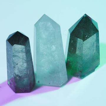 Crystals for Action and Focus