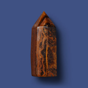 Tiger's Eye Crystal Point