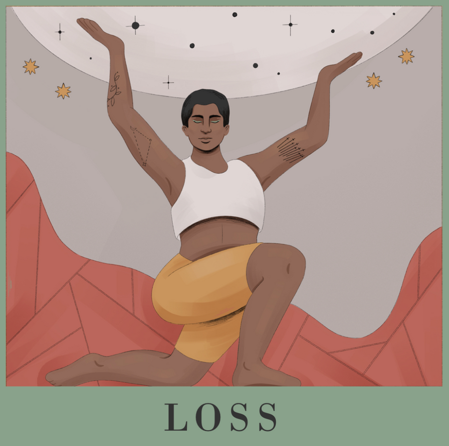 the loss spell - crescent moon version