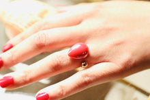 Load image into Gallery viewer, Marry Yourself Rings (Pearl, Onyx, Red, Peach )