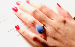 Marry Yourself Rings (Pearl, Onyx, Red, Peach )