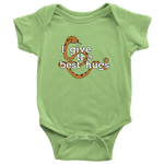 Best Hugs Baby Onesie