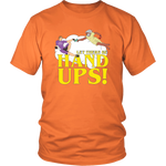 Let There Be Hand-Ups T-Shirt