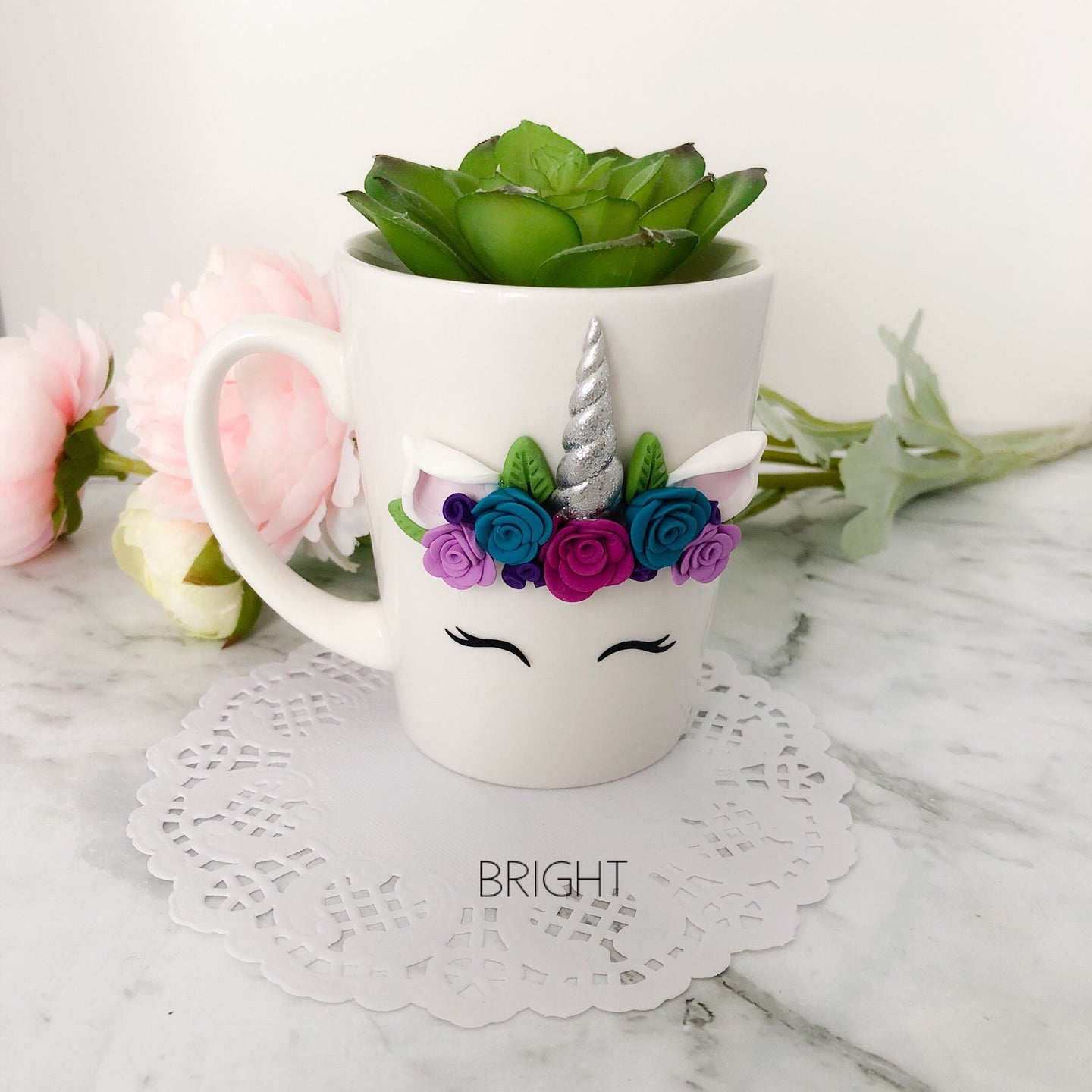 Bright Unicorn Mug