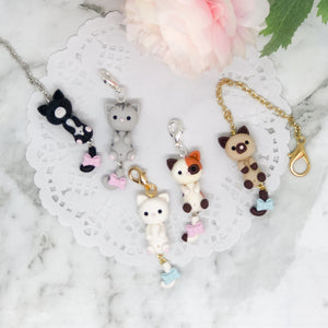 Cute Kitty Cat Charm