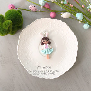 Easter Babe - Paperclip and Charm