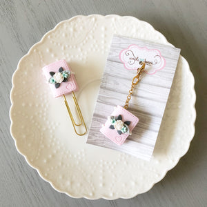 Baby Pink Floral Mini Planner READY TO SHIP