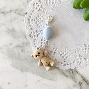 "Teddy ""Up and Away"" Travellers Notebook Charm"