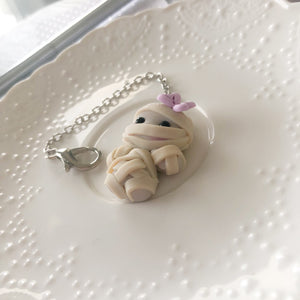 Wrapped in cuteness Mummy Charm