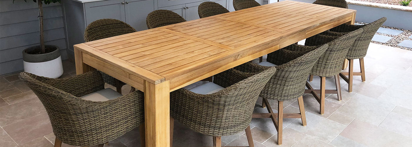 Buy Outdoor Teak Furniture Online Or Instore Sydney Melbourne Brisbane