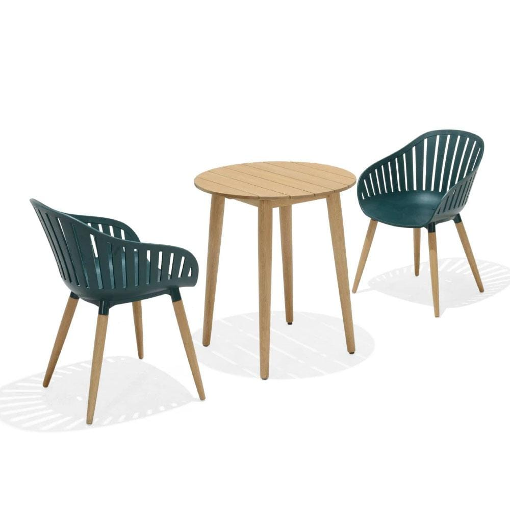 Marina Outdoor Lifestyle Garden Recycled Plastic Patio Chairs & Table