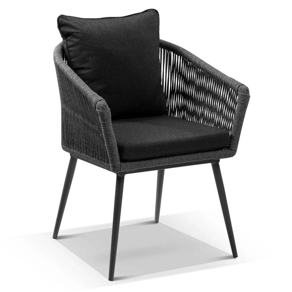 Herman Outdoor Rope and Aluminium Dining Chair