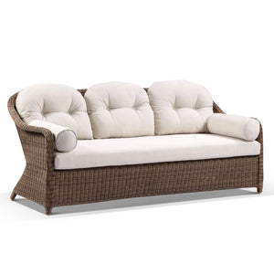 Plantation Outdoor Wicker 3 Seater Rattan Lounge