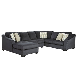 Charles Large Fabric Corner Chaise Indoor Lounge Suite