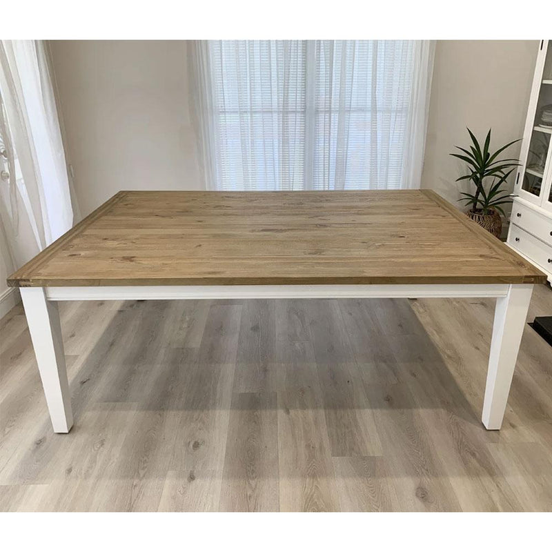 Leura Belle Large Rustic 250cm x 150cm Indoor Timber Dining Table
