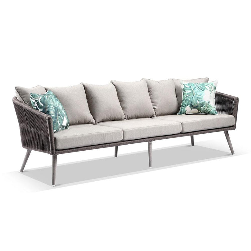 Herman Outdoor 3+2+1 Rope Lounge with Coffee Table Set