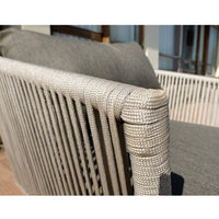 Jade Outdoor Rope 3 +1 +1 Lounge Setting with Coffee table