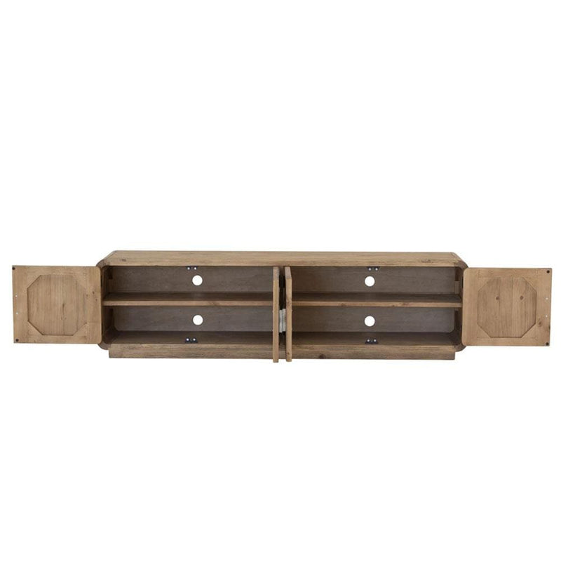 Milan Timber Indoor TV Entertainment Unit Sideboard