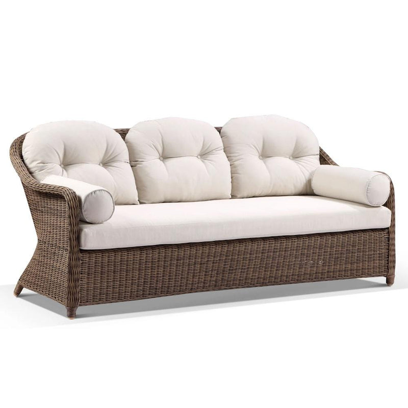 Plantation Outdoor Wicker 3+1+1 Lounge Set with Coffee Table