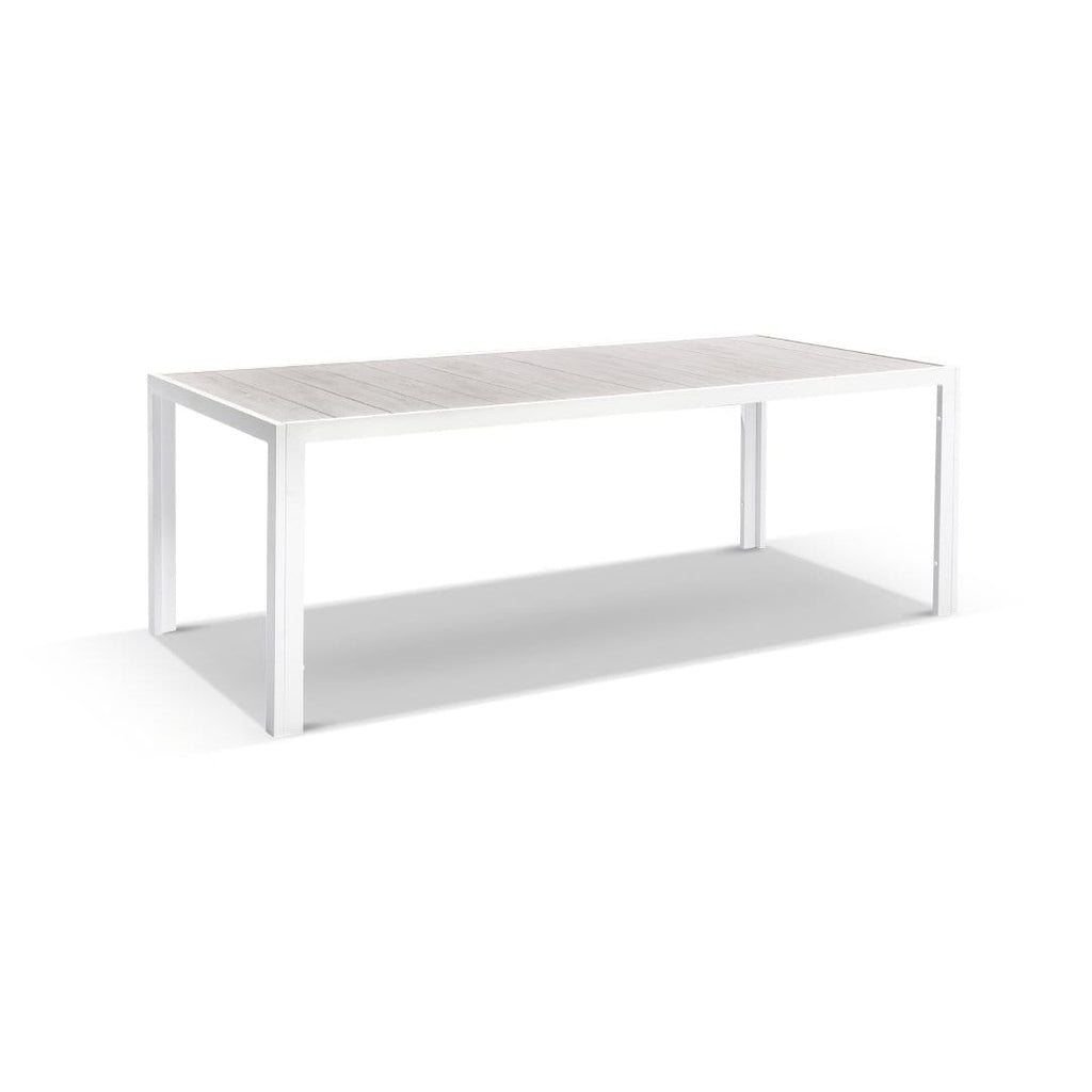 Southport Outdoor 2.17m Aluminium and Ceramic Rectangle Dining Table