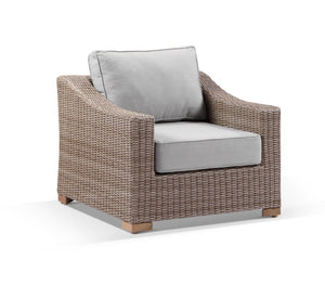 Retreat 1 Seater Outdoor Wicker lounge Arm Chair