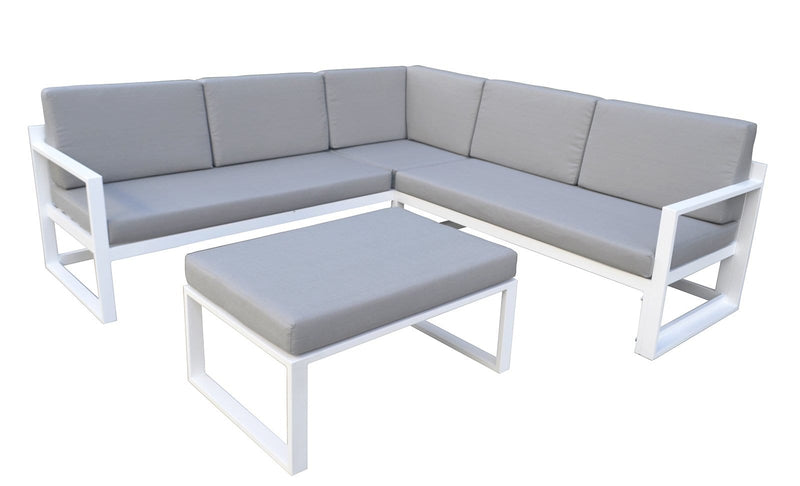 Leila Outdoor Aluminium Modular Lounge Setting