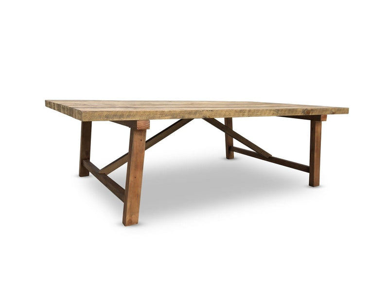 Rustic Industrial 2.5m Table