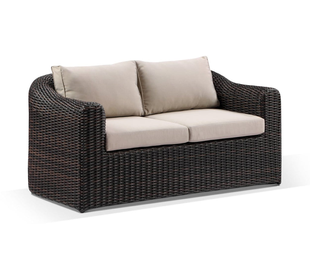 Subiaco 2 Seater Outdoor Wicker Lounge
