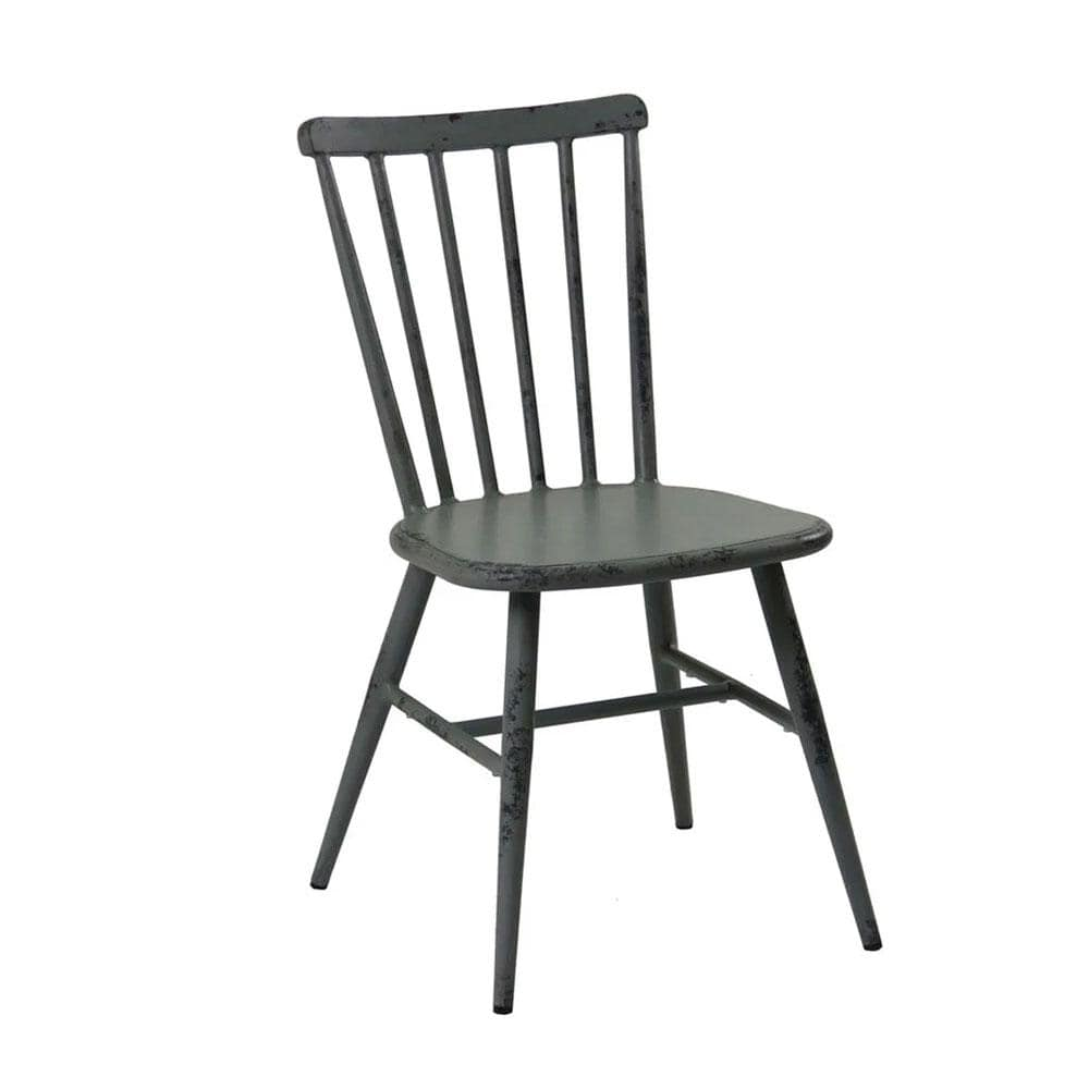Replica Windsor Stackable Outdoor Dining Chair in Antique Grey