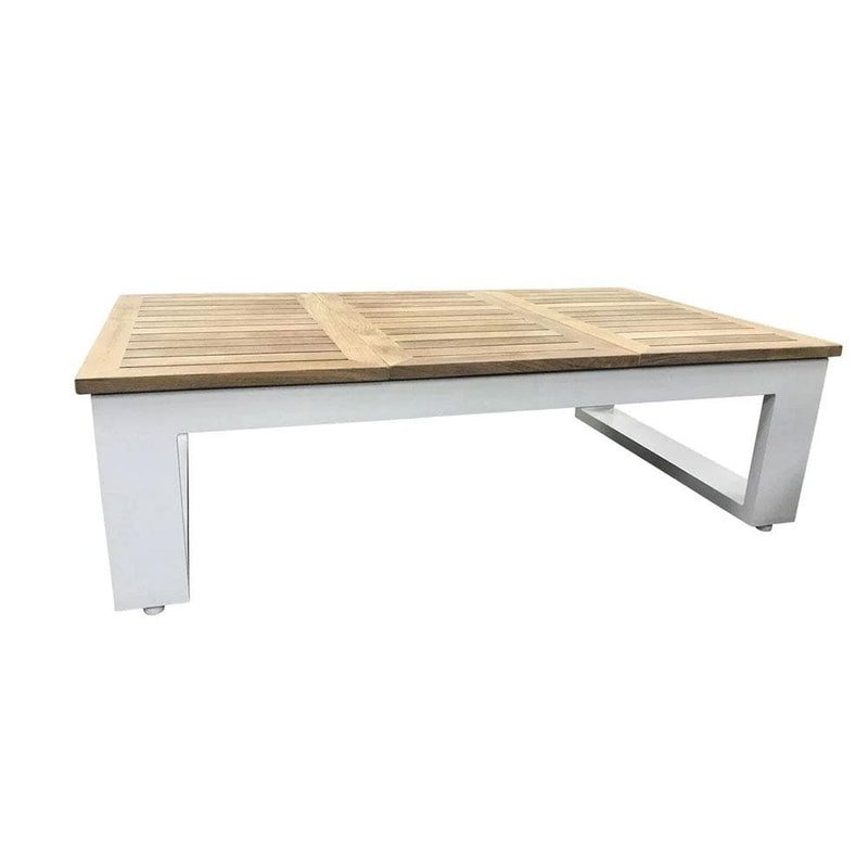 Balmoral Teak Top Aluminium Coffee Table