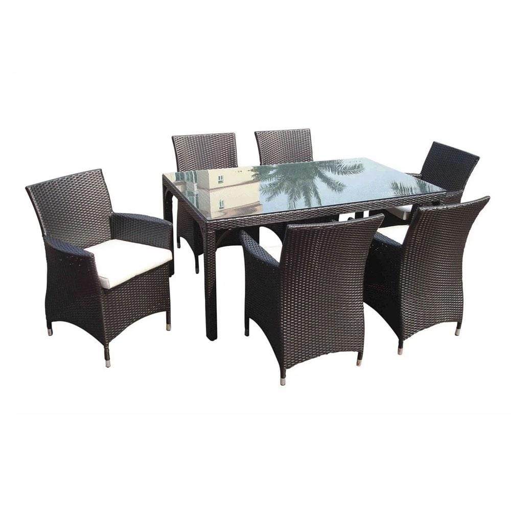 Roman 6 - 7pc Outdoor Dining Set
