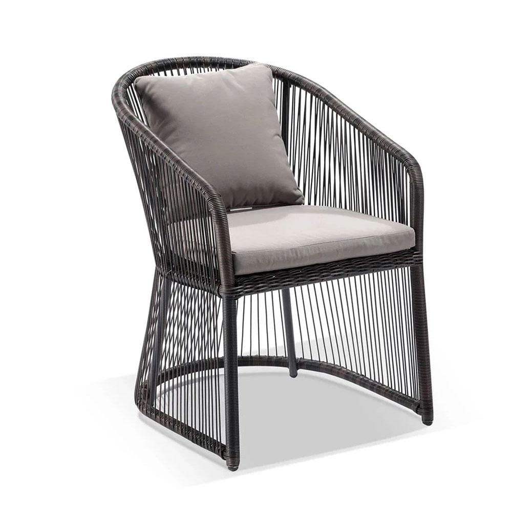 Luna Outdoor Wicker Dining Chair