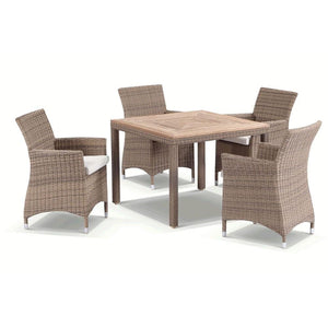 Sahara 4 in Half Round wicker